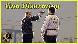 Hapkido Self-defence using Belt, Gun disarming & Bystander techniques