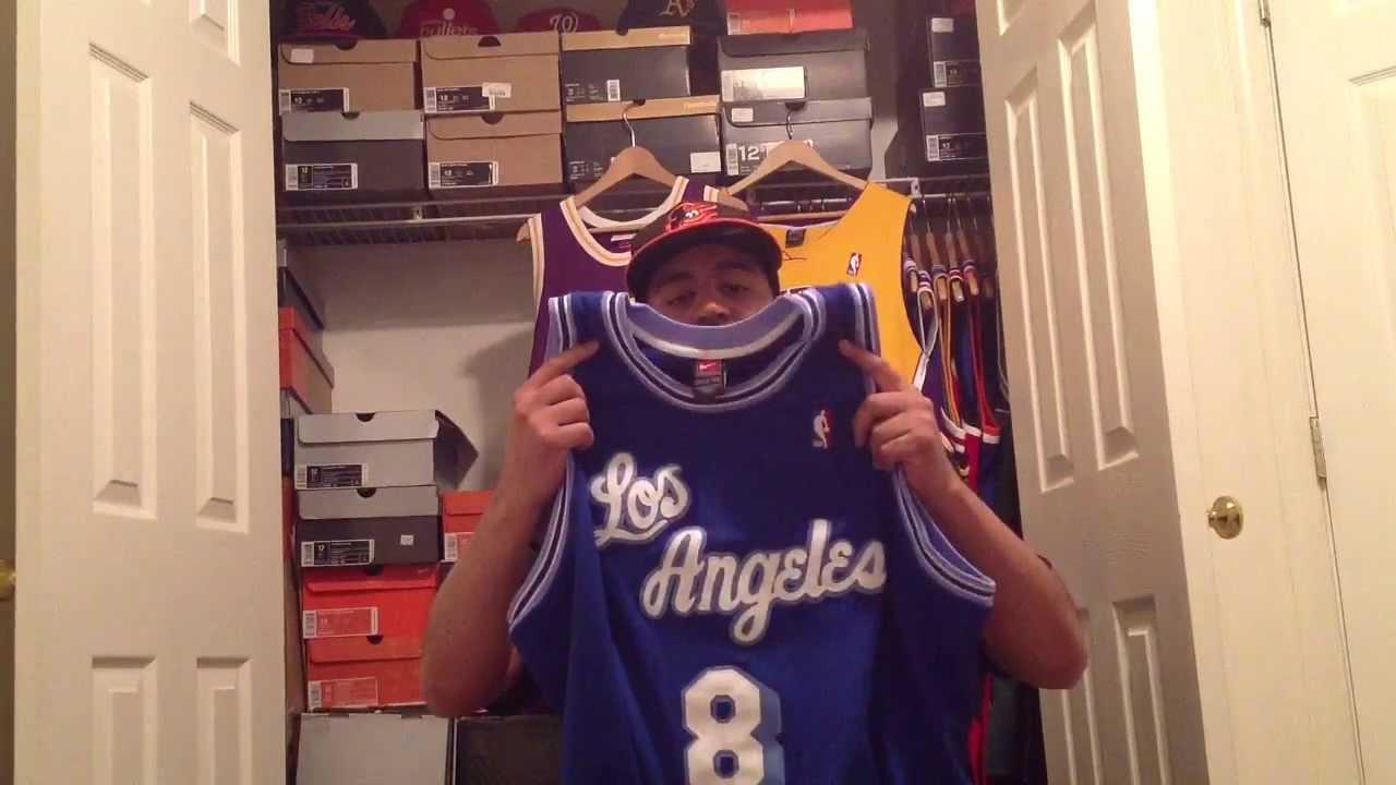 bb4bcc55907 Pointforwards Jersey Vlog 4-16-13 Kobe Bryant Adidas Crazy 8 review ...
