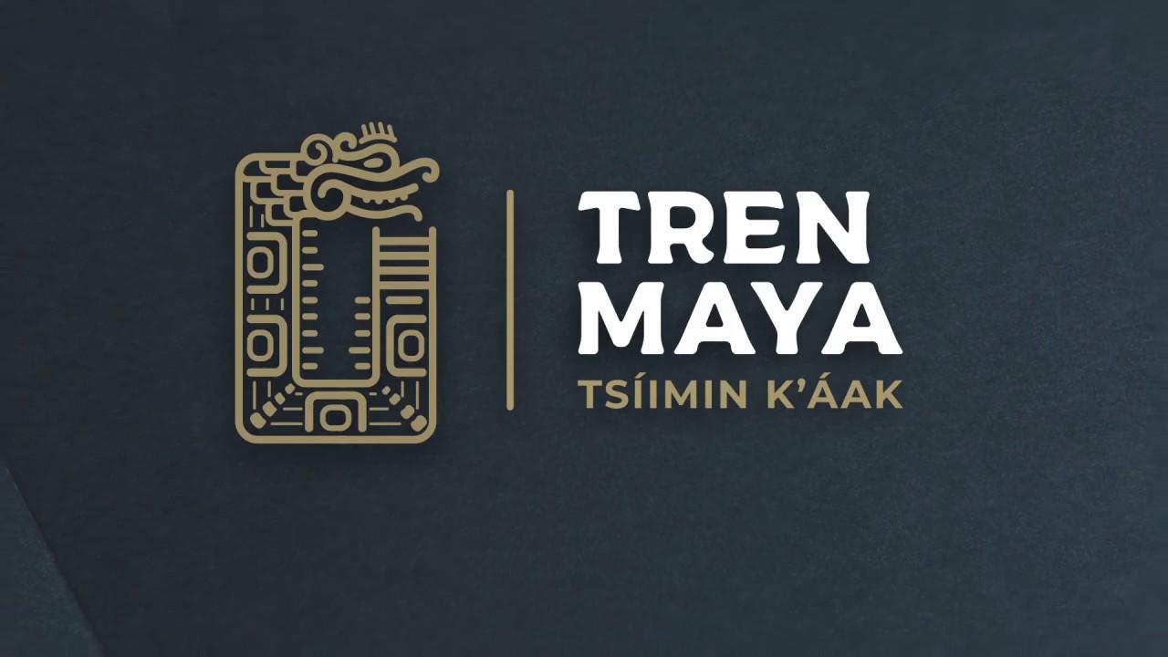 Significado del logo del Tren Maya - YouTube