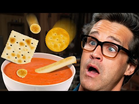 What's The Best Cracker To Dip In Your Soup? (Test)