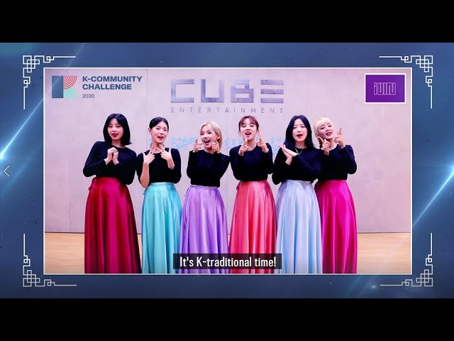[K-Community Challenge] Promotional video with (G)I-DLE