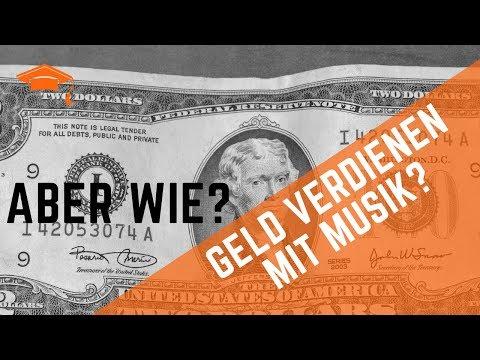 Mit Musik Geld verdienen ♫ $ Wie geht das und wie viel verdiene ich? GEMA etc.