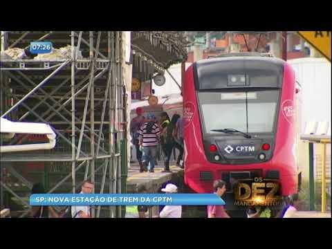 Estação de trem vai ganhar nova instalação em Francisco Morato (SP)