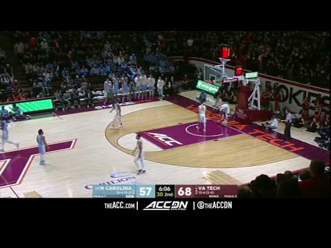 North Carolina vs Virginia Tech College Basketball Condensed Game 2018