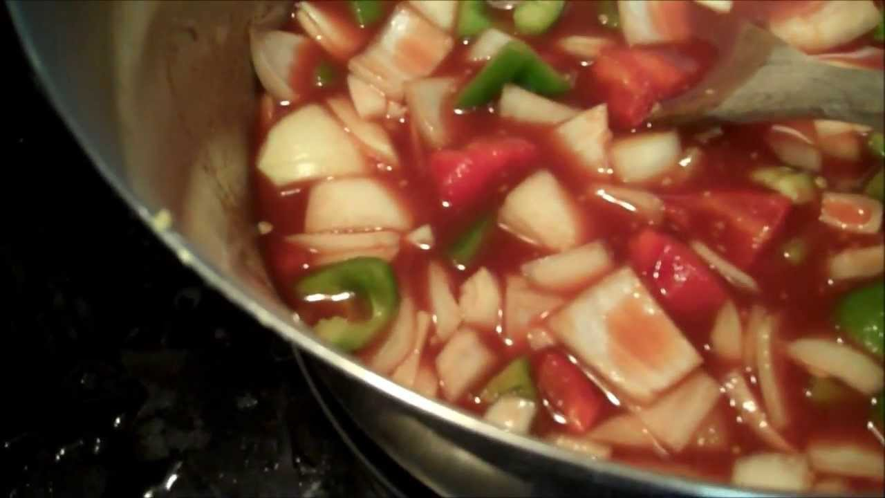 Aunt Duddie Makes Sweet and Sour Sauce a la Imstillworkin