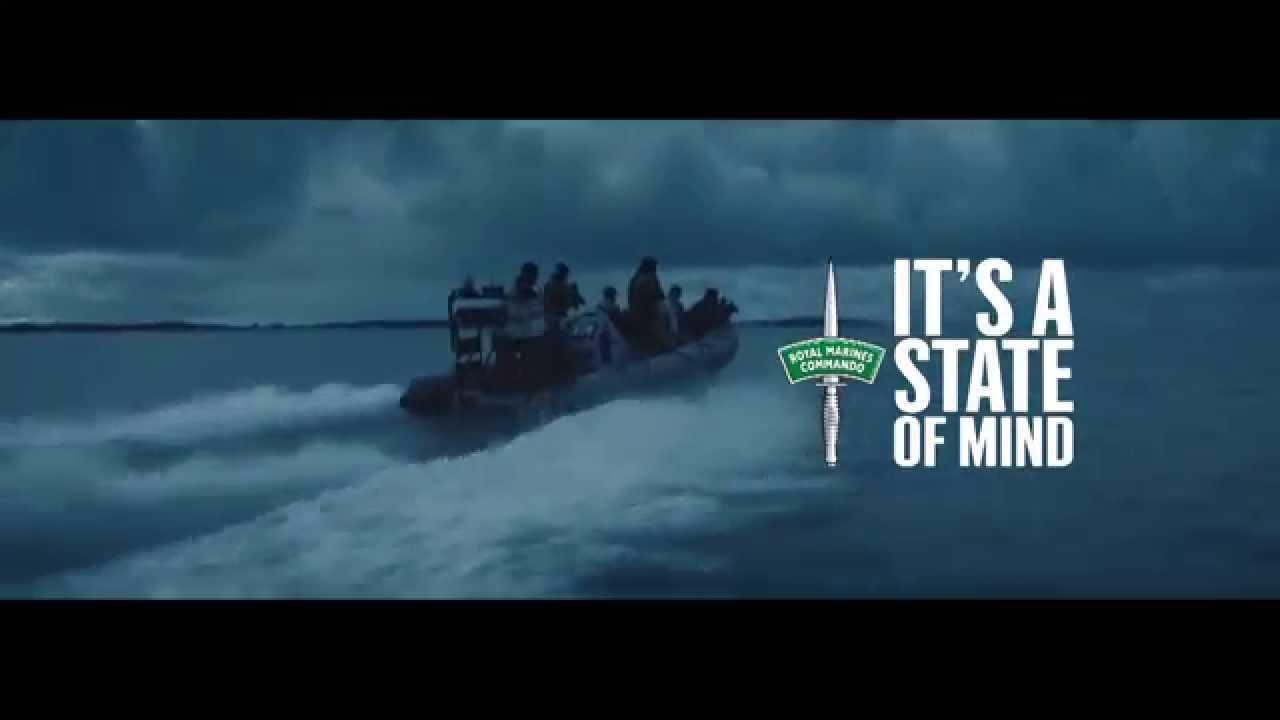 Royal Marines - they come from the sea - YouTube
