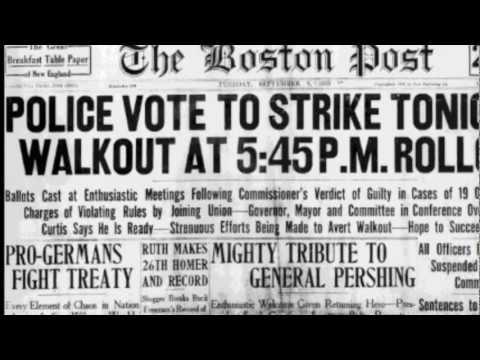 boston police strike 1919