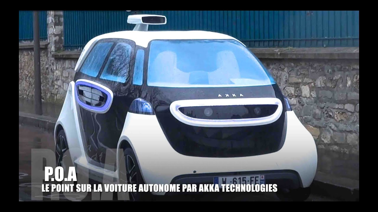 voiture autonome la link go d 39 akka technologies youtube. Black Bedroom Furniture Sets. Home Design Ideas
