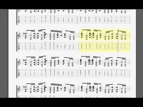 Metallica   Astronomy James guitar tablature