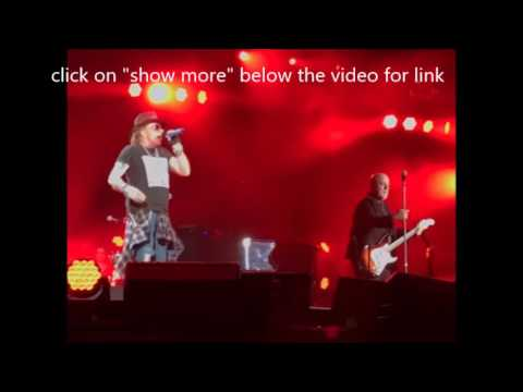 Guns N' Roses Axl Rose joins Billy Joel for AC/DC and Billy Joel song ..!