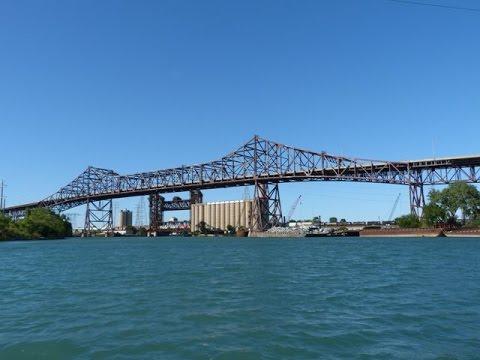 Crossing The Chicago Skyway Toll Bridge