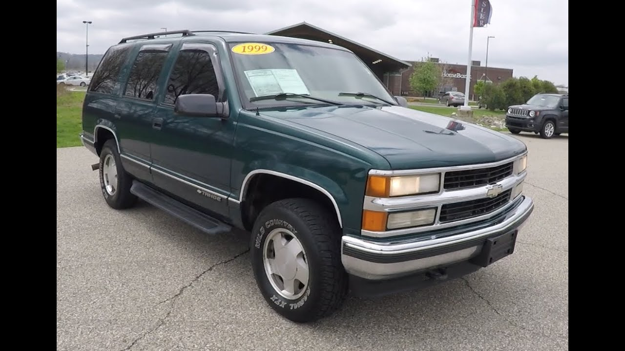 1998 Chevrolet Tahoe Ls 4x4 P10191m Youtube