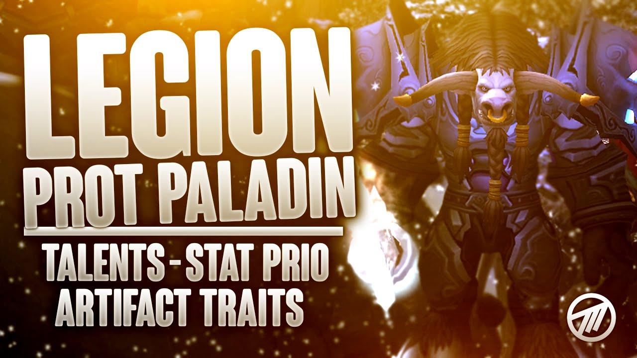 Legion Tanks Best Protection Paladin Talents Artifact Traits