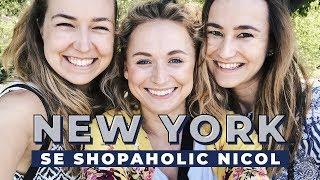 VLOG | V New Yorku se Shopaholic Nicol!