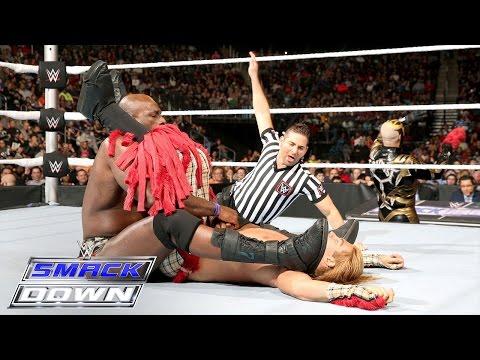 Titus O'Neil Vs. Tyler Breeze: SmackDown – 17. Dezember 2015