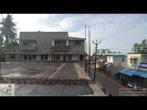 Mini Marriage Hall Construction Roof Centring Work GIRI Homes Kumbakonam