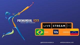 Brasil Vs Venezuela - PreMundial Masculino U23