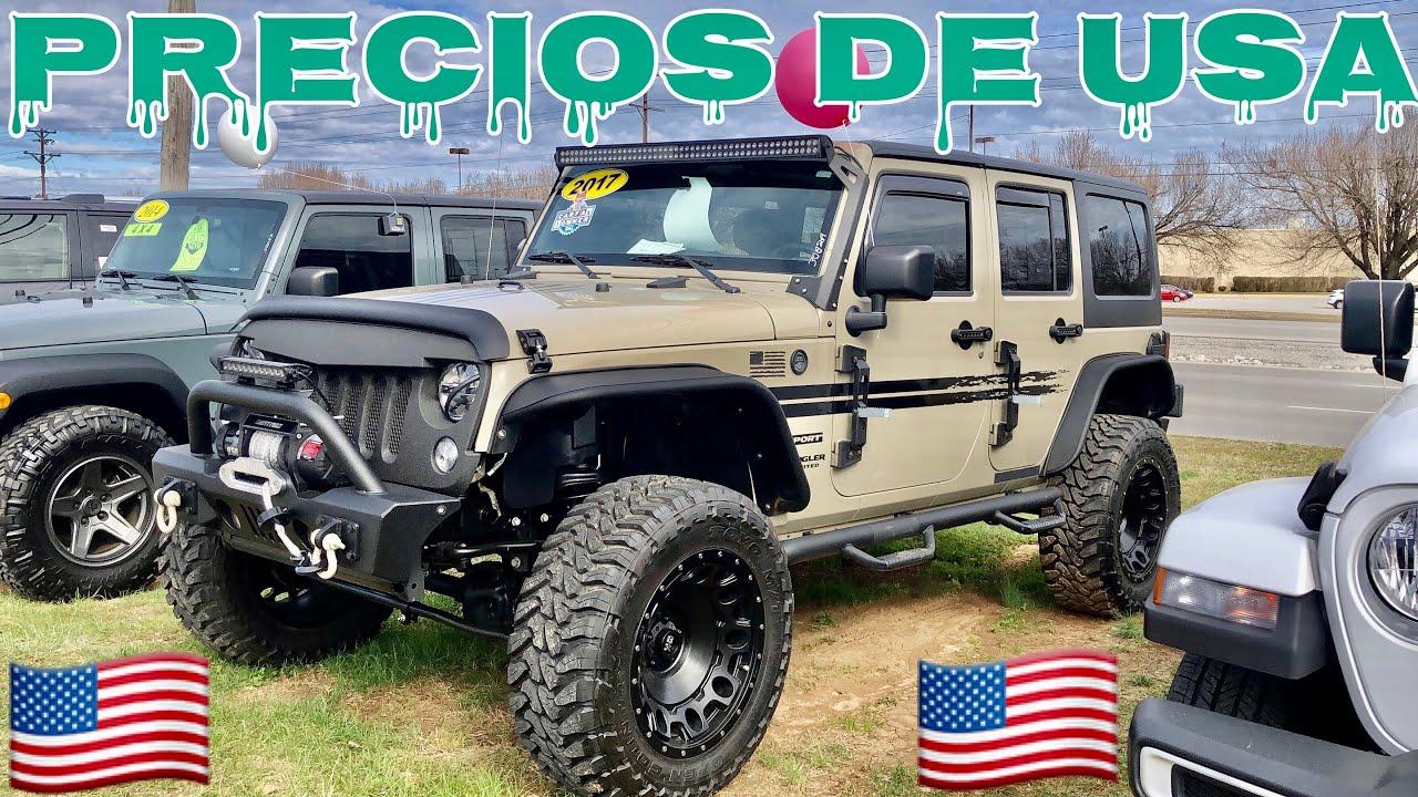 Venta De Jeep Wrangler 2020 En Eeuu Precios De Usa Youtube