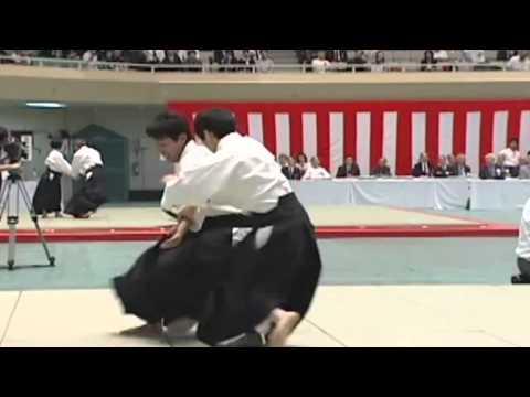 Very Very good Aikido kotegaeshi Doshu Chiba Kuribayashi Miyamoto Seki etc'