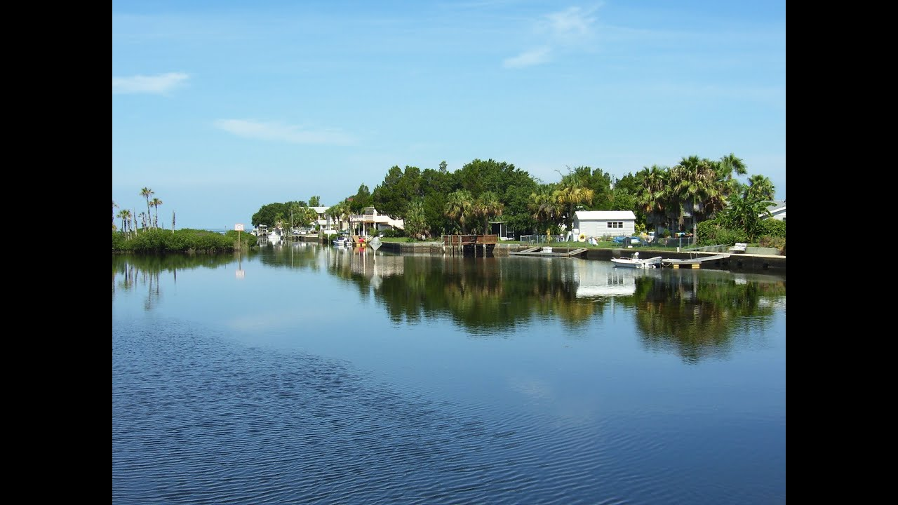 Aripeka Florida - small town on Gulf of Mexico coast, with tiny Post Office, and beautiful wildlife