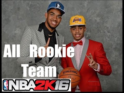 NBA 2K16 | All Rookie Team in NBA