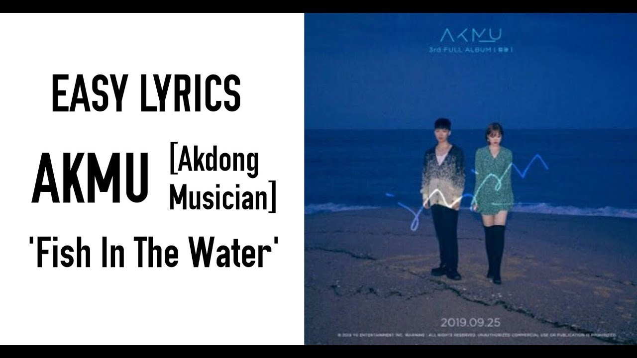 AKMU [Akdong Musician] - Fish in the water 물 만난 물고기 [EASY LYRICS]