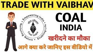 COAL INDIA Share || Buy sell or Hold जानिए इस वीडियो में ।