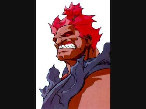 Street Fighter Alpha 3 OST Feel the Cool Theme of Akuma