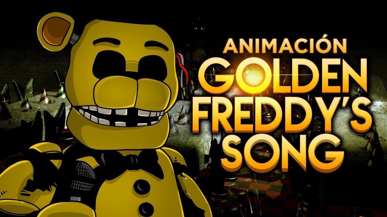 """Download GOLDEN FREDDY'S SONG ANIMACIÓN - """"La Canción de Golden Freddy de Five Nights at Freddy's"""""""