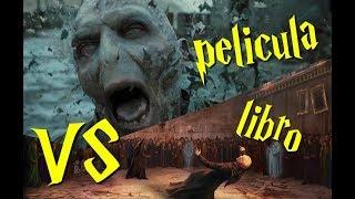 Batalla de Hogwarts  LIBRO VS PELÍCULA