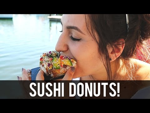 Food Review | Eating Sushi Donuts at Doshi, Sydney Fish Markets, Pyrmont - Sydney Restaurants