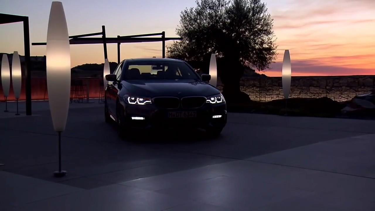 2018 BMW 5 Series 550i Interior Exterior Lighting Day Night Time