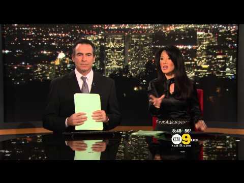 Sharon Tay 2012/11/12 KCAL9 HD
