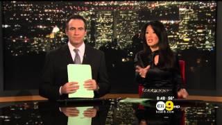 Sharon Tay 2012/11/12 KCAL9 HD