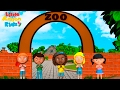 We re Going to the Zoo with Easy Actions 🐘 Animal Songs by Little Action Kids