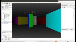 Java 2.5D from scratch - Raycasting test #2 (alternative method)