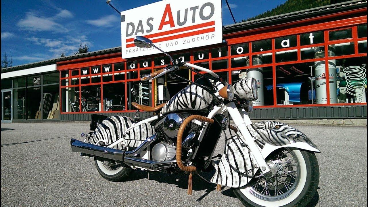 motorrad lackieren restaurieren airbrush zebra look. Black Bedroom Furniture Sets. Home Design Ideas