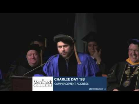 Charlie Day's Merrimack College Commencement Address