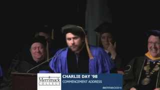 Charlie Day's Merrimack College Commencement Address thumbnail