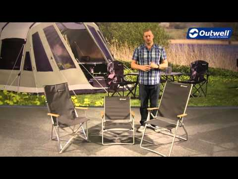 Outwell Bamboo Camping Chair Collection | Innovative Family Camping