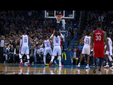 New Orleans Pelicans vs Oklahoma City Thunder | November 5, 2018