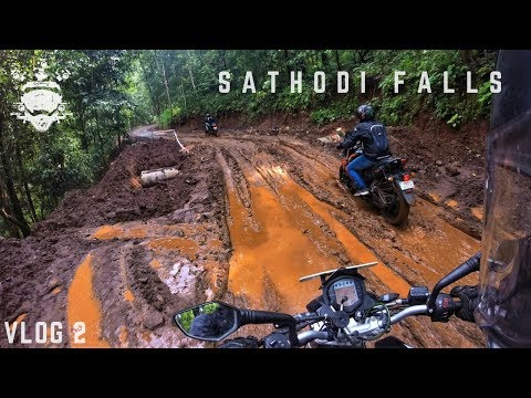 Sathodi Falls  - Unexplored Uttara Kannada - Vlog 2 - GoPro Man