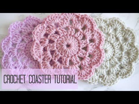 CROCHET: how to crochet a coaster | Bella Coco