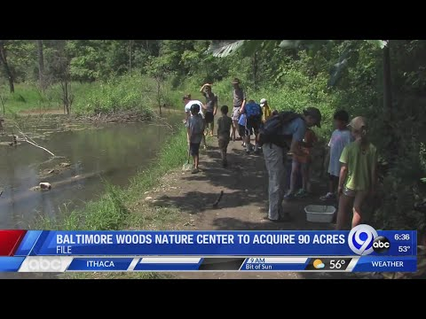 Tom & Becky - Baltimore Woods Nature Center To Expand By 90 Acres!