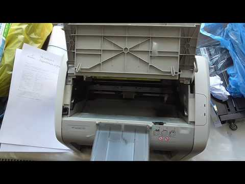 Принтер HP 1020 (1010, 1018) гонит белый лист
