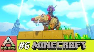 PIXARK - Minecraft Ark #6 - Taming Phiomia - Giải Cứu Bé Heo Khỏi Bệnh Tự Kỷ