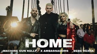 Machine Gun Kelly, X Ambassadors & Bebe Rexha   Home (from Bright: The Album) [official Video]