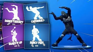 'NEW' LEAKED ROADTRIP SKIN AVEC UNRELEASED EMOTES IN-GAME!! - Fuites Fortnite
