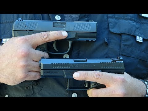 Walther Creed vs CZ P-10 C