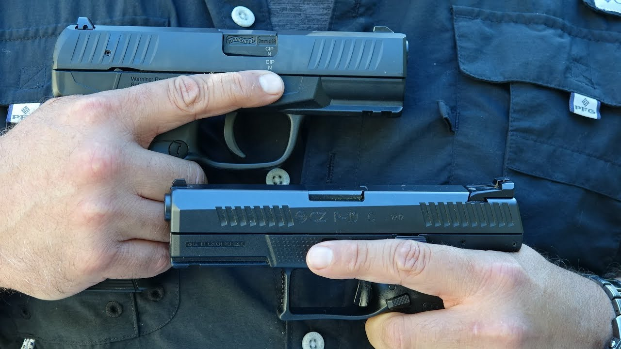 Walther Creed Vs Cz P 10 C Youtube